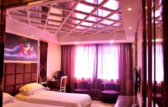 Honglou Business Hotel: 粉红