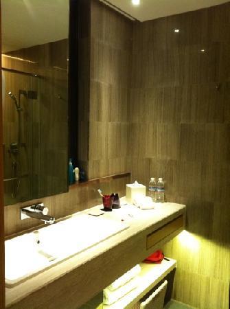 L'hotel élan : bathroom