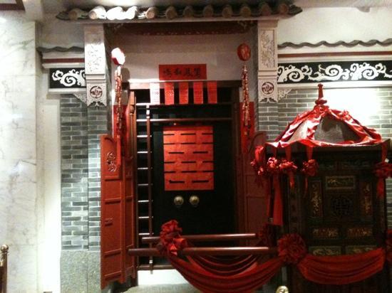 Zhongshan International Hotel : 国际酒店大堂一角