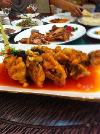 Xi'an Fanzhuang: 黄河鲤鱼