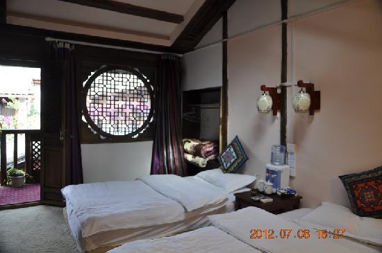 Menghui Lijiang Inn: 瑶池仙境二楼双人标间