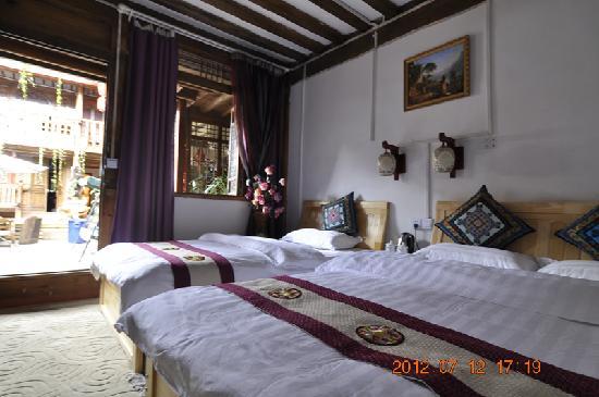 Menghui Lijiang Inn: 一帘幽梦一楼家庭间