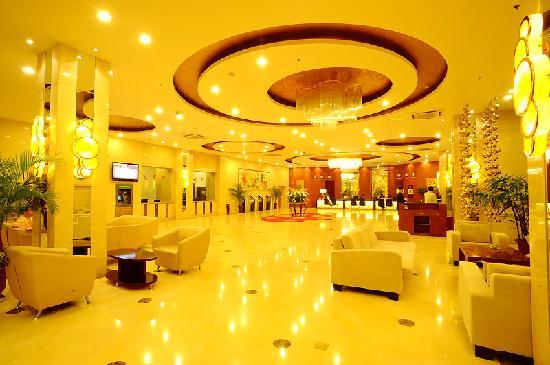 Ariva Qingdao Hotel & Serviced Apartment: 酒店大堂