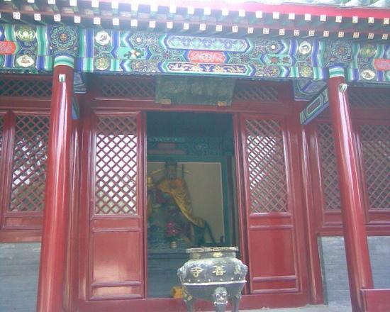 Linyou County, China: 庙宇