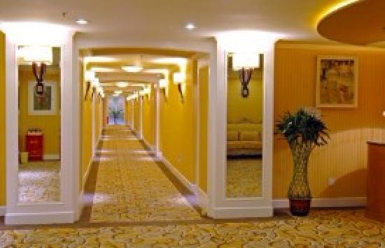 Gan Long Hotel: 客房走廊