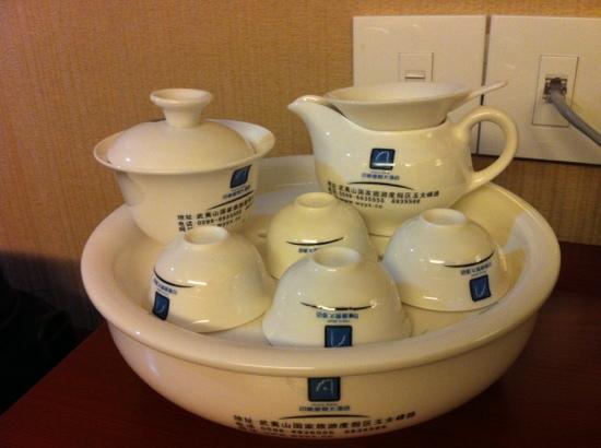 Jinjiang Metropolo Hotel Wuyishan: 房间茶具