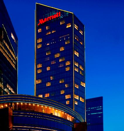 Beijing Marriott Hotel Northeast: 酒店外观