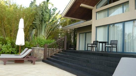 Hilton Sanya Yalong Bay Resort & Spa: 房间门口