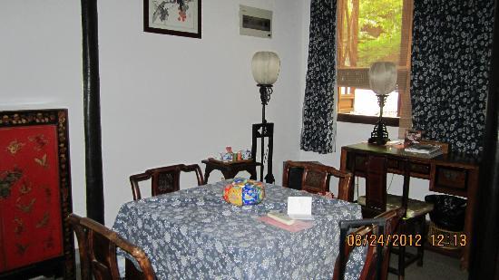 Pingjiang Lodge: 房间里的一角