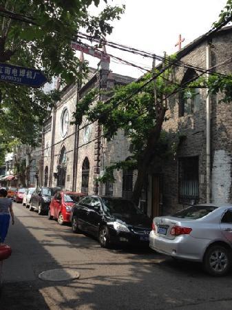 Wenzhou Chengxi Christian Church: 斜侧