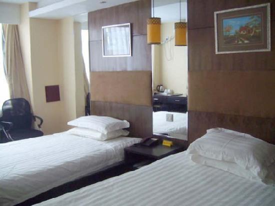 Aoxiangge Hotel : 标准双人床