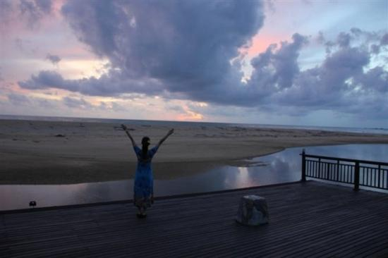 Hotspring Beach Resort & Spa: 拥抱这一片,屏住呼吸去听海。