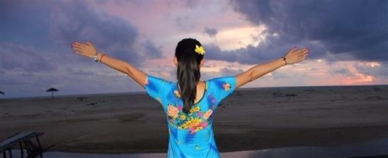 Hotspring Beach Resort & Spa: 拥抱大海拥抱日落拥抱美丽的明天