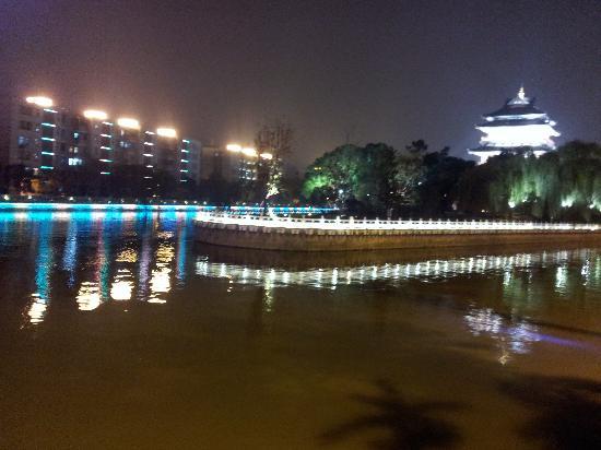 Jinjiang Inn Changzhou Xixin Bridge: 夜色