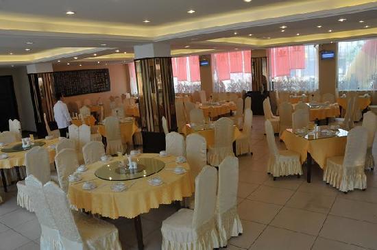 Sheyuan Heyi Hotel: 餐厅