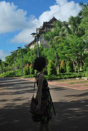Eadry Royal Garden Hotel Luxury Haikou : Sideway