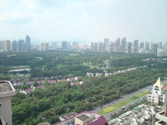 Fietser International Residence: 空中花园,风景