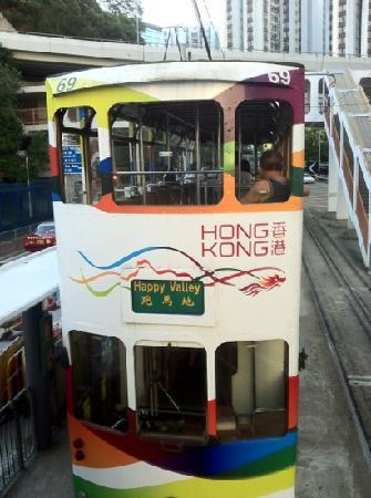 North Point, Hong Kong: 古老的电车