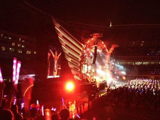 Long He Stadium : 张惠妹演唱会