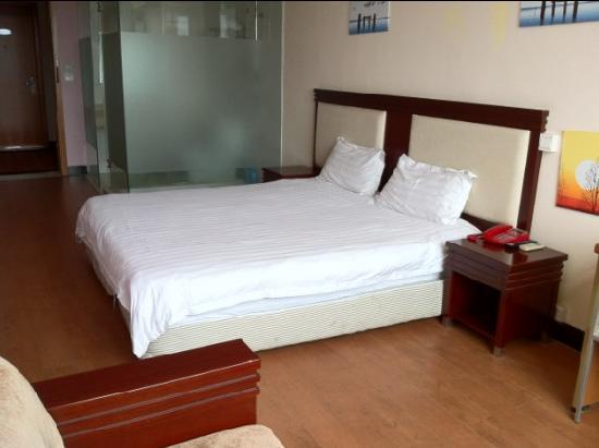 Jiejia Hotel Shanghai Pudong Airport: 豪华大床房