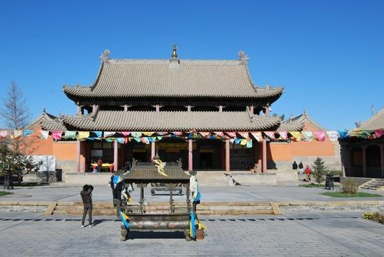 Xilinhot, China: 寺
