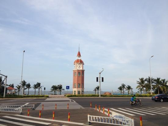 Haikou, China: 路边
