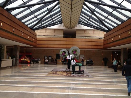 Kempinski Hotel Beijing Lufthansa Center: 酒店大堂