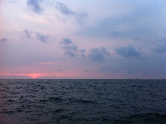 Cijin Seaside Park: 夕阳