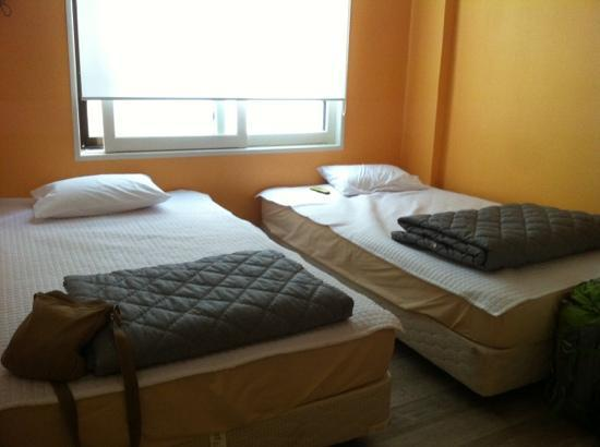 The Forest Hostel : 双人床的房间