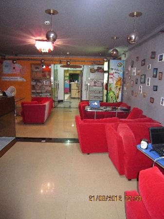 Sanya Raintree Backpacker Hostel: 大厅
