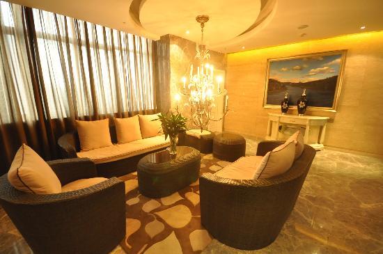 Bohemia Hotel Luoyang: 休息区