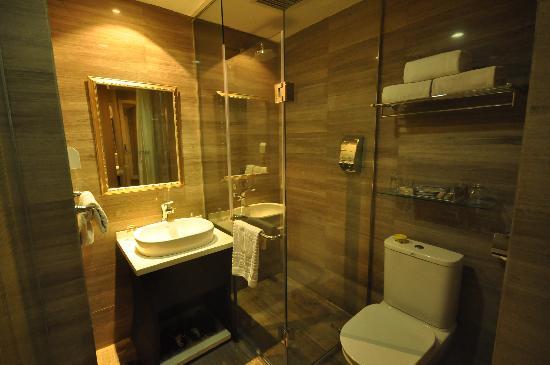 Bohemia Hotel Luoyang: 盥洗室