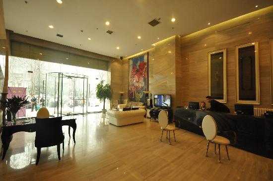 Bohemia Hotel Luoyang: 接待大厅