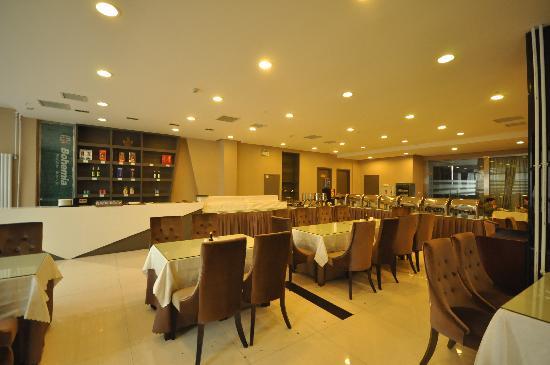 Bohemia Hotel Luoyang: 自助餐厅