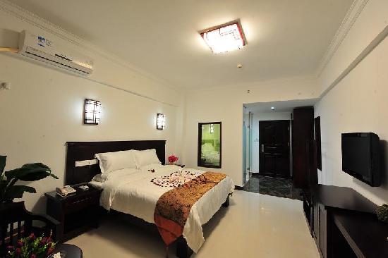 Jindu Seaview Hotel: 豪华海景蜜月房