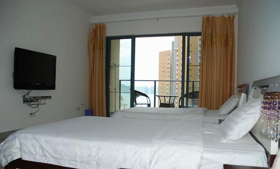 Qingchundou Family Hostel : 蓝豆海景双标2303