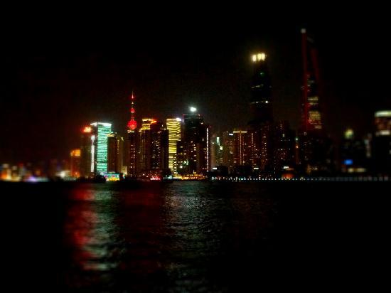 Jinghan Haoting Hotel: 窗外的江景