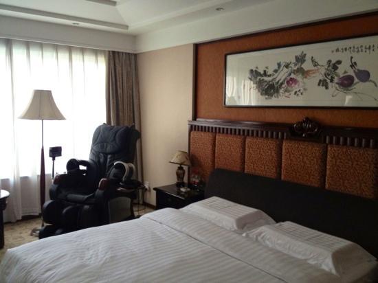 Xiu Lan Hotel : 带按摩椅的豪华房