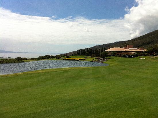 The King Kamehameha Golf Club: 从18洞看到的会所