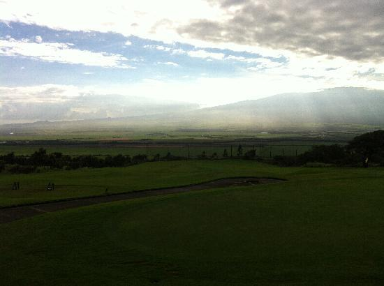 The King Kamehameha Golf Club : 清晨的球场