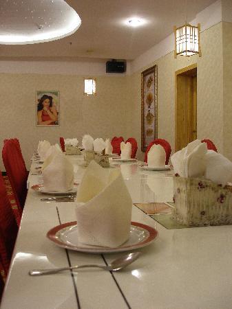 Victoria International Hotel: 酒店印度餐厅