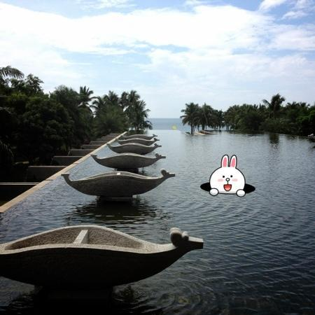 Sheraton Sanya Haitang Bay Resort: 水台