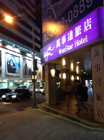 Wonstar Hotel Zhonghua: 位置好