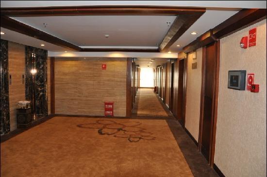 Wangsui Hotel : 楼层客房走廊