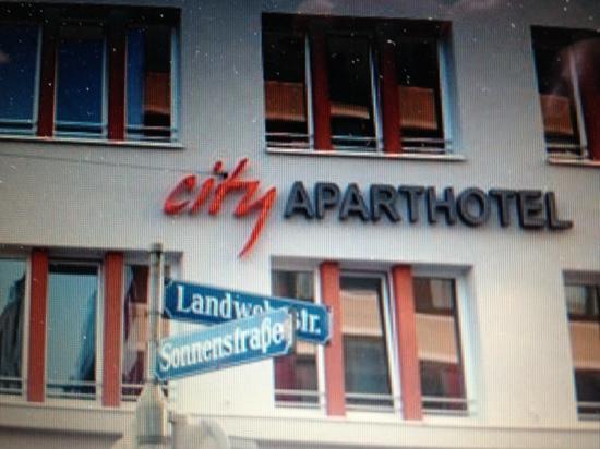 City Aparthotel München: 酒店外观