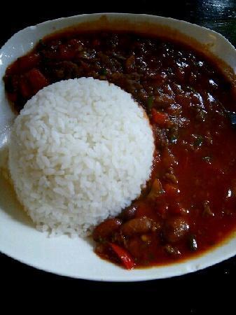 Cafe de Jack: 辣牛肉烩饭