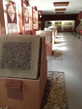 Han Portrait Stone Hall: 一楼展厅