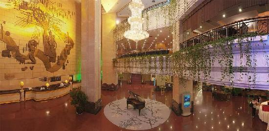Golden Port Hotel (Jingang Dajiudian) : 酒店大堂