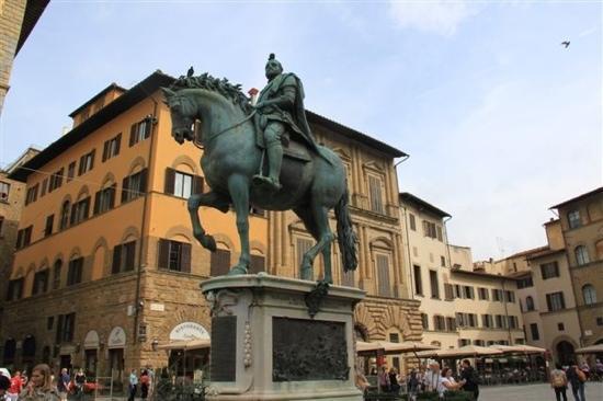 Piazza della Signoria: 像