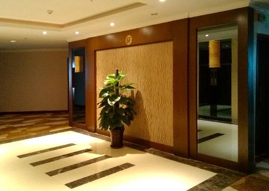 Taoyuan Guoji Hotel: 重新装修了的副楼电梯间。